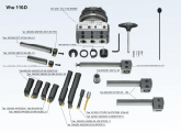 Vhu 110-D Accessories description